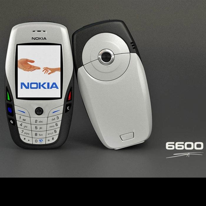 Nokia 6600. Image: www.evermotion.org