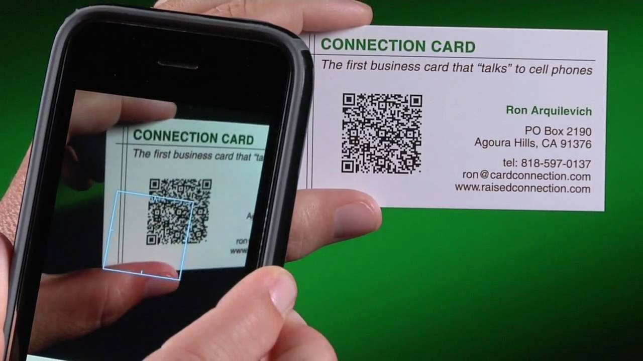 Modern Trend, Electronic Business Cards (How to Generate QR ...