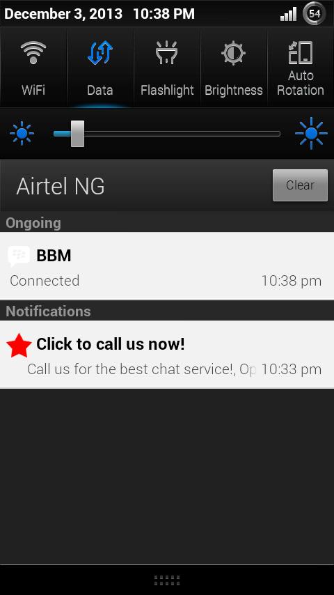 after install screenshot